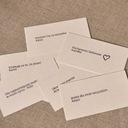 Bilecik kartka z dedykacją na prezent Betlewski Rodzaj inny