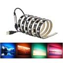 TAŚMA TV LAMPA LED RGB USB LEDY ZAROWKA 4M ZAROWKI Długość 4 m