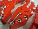 Nakładki 3D na zaciski hamulce BREMBO M+S Czerwone EAN 6931190741715