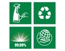 AJAX spray antybakteryjny do łazienki 500 ml Rodzaj czyszczenie wielofunkcyjne