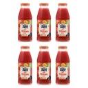 BOBO FRUT nektar jabłko truskawka aronia 6x300ml