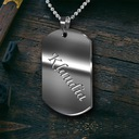 Жетон сталь сталь 316L ВАШ гравер