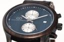 Zegarek męski drewniany Giacomo Design GD481 NEW! Szkiełko mineralne