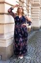 Wyjątkowa sukienka z siatki S-45 trapez XL/2XL Marka Cavaricci
