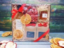 KOSZ PREZENTOWY herbaty, syrop i czekolada PREZENT Waga produktu z opakowaniem jednostkowym 1 kg
