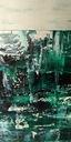 Obraz olej na płótnie abstrakcja100x70 Wysokość produktu 70 cm