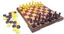 GRA SZACHY WARCABY MAGNETYCZNE 2W1 DUŻE NA MAGNES Maksymalna liczba graczy 2