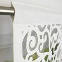 PANEL AŻUROWY FIRANA KRYSZTAŁ FILC 140x60 AŻUR Kolor biały odcienie szarości odcienie zieleni odcienie żółtego srebrny złoty wielokolorowy inny