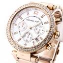 Zegarek damski MICHAEL KORS MK5491 cyrkonie Kolor złoty