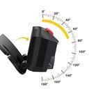 Latarka czołowa LED akumulatorowa włączanie ruchem Cechy dodatkowe kurzoodporność ładowanie USB wodoodporność wstrząsoodporność