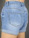Hot pants damskie szorty spodenki jeans denim L Rozmiar L