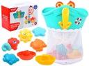 STATEK organizer kolor gumowe zabawki do kąpieli
