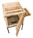 Wędzarnia drewniana ogrodowa opalana Cały zestaw EAN 0650414295952