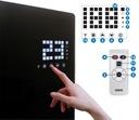 Grzejnik elektryczny EVI panelowy szklany 2kW WiFi Marka EBERG