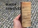 Drewno stabilizowane bloczek knifemaking BLA314