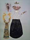 CLEOPATRA FARAON Egipt KLEOPATRA Strój Kostium S M Kolor dominujący wielokolorowy
