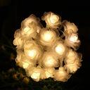 Girlandy Lampki Rose Ogrodowe Solarne 50 LED 7m Seria inna