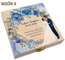 Pudełko na pieniądze banknoty prezent ślub wesele Nazwa pudełko na pieniądze