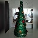 Mala Turkusowa Choinka Z Makaronu Dekoracja Swiateczna Dora Decora Flower Arrangements Holiday Decor Christmas Is Coming