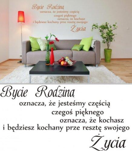 Naklejki Na Sciane Cytat Napisy Scienne W Tym Domu 6070421229