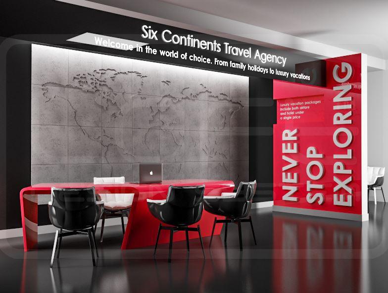 Map of the world komplet panel 3d loft system 6906004173 - 3d wandpaneele betonoptik ...