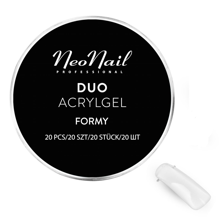 6e5a51fa2e NeoNail formy Duo AcrylGel do budowy przedłużania 7539286088 ...