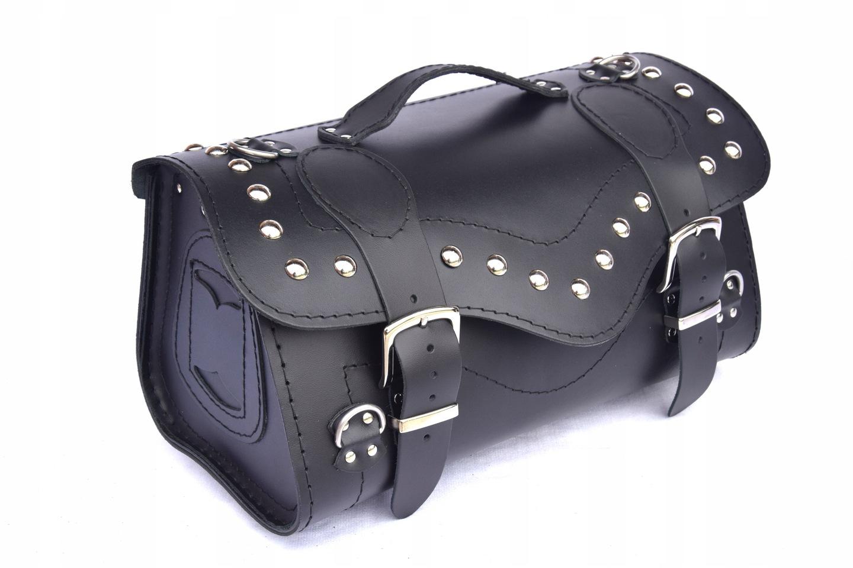 Kufer skórzany motocyklowe kufer centralny K241