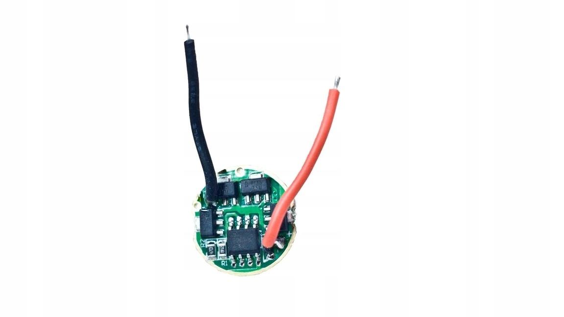 Konfigurowalny sterownik diody do latarki LED 2,8A