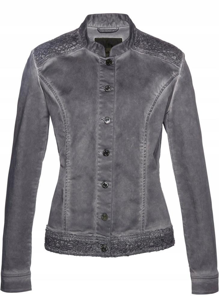 BONPRIX modna cienka KURTKA ala jeans KATANA 48