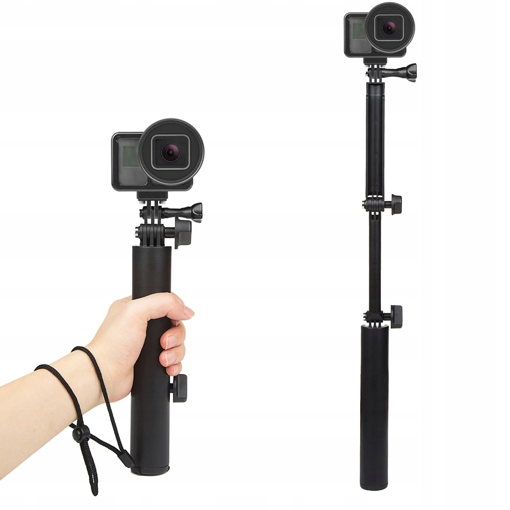 MONOPOD UCHWYT STATYW 3way GRIP GoPro Hero 5 6 7 BLACK