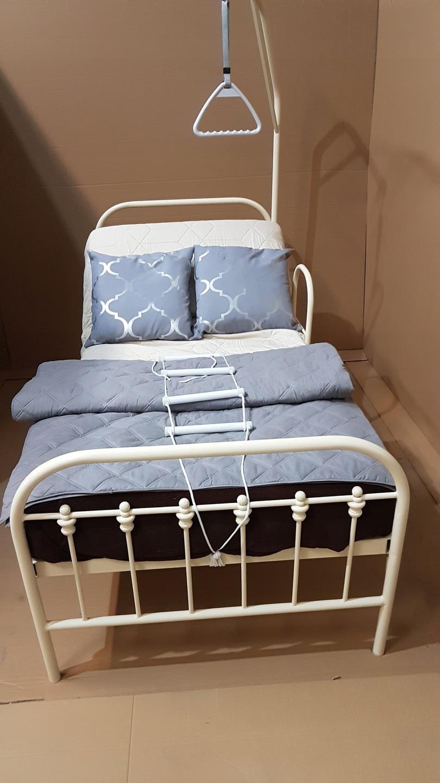 łóżko Dla Seniora 90x200 Wysięgnik Poręcz Uchwyt