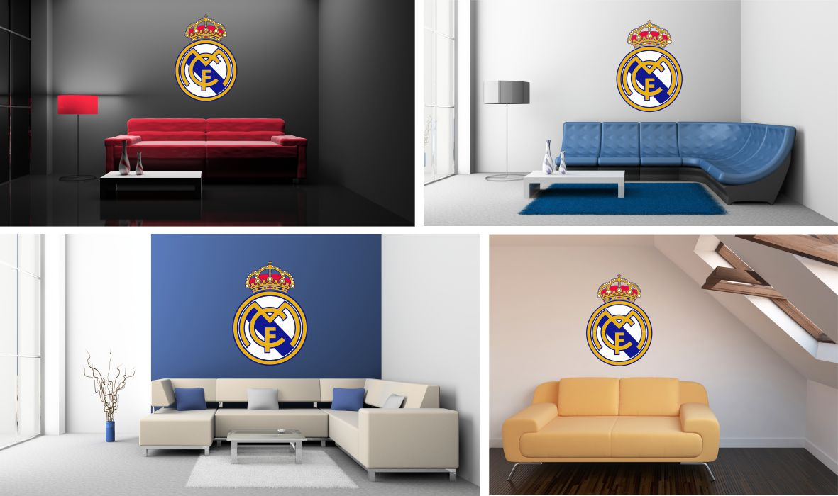 Naklejka Na Sciane Real Madryt Madrid Ronaldo 120 7152838671