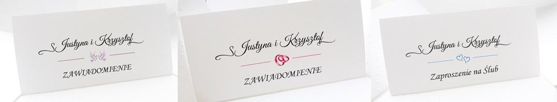 Zaproszenia Na ślub ślubne Personalizacja Gości 6914864809 Allegropl