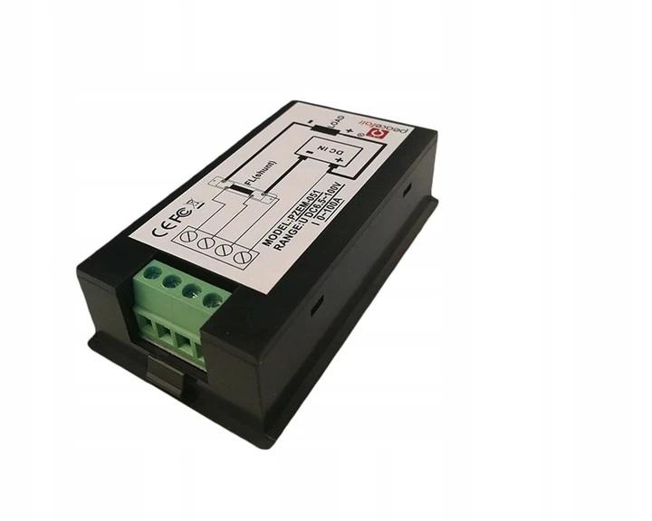 Miernik mocy woltomierz amperomierz 8-100VDC 100A