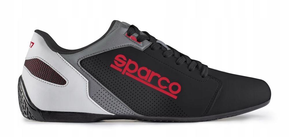 4876bc3c5c17db Buty sportowe Sparco SL-17 2019 czarno-czerwone 43 7816382370 - Allegro.pl