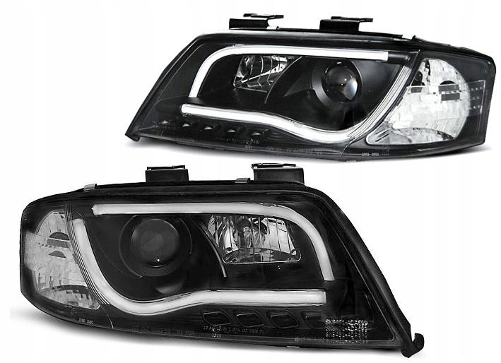 Audi A6 C5 01 04 фары перед Drl Black Led Tube купить в