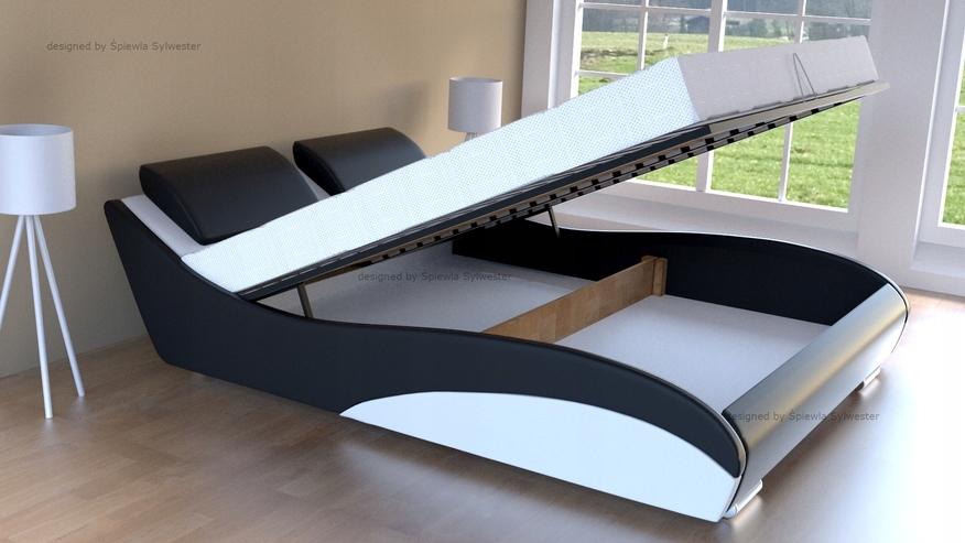 71a753bf84f8 Кровать Stilo-2 Премиум коробка на постельное белье 160х200 купить в ...