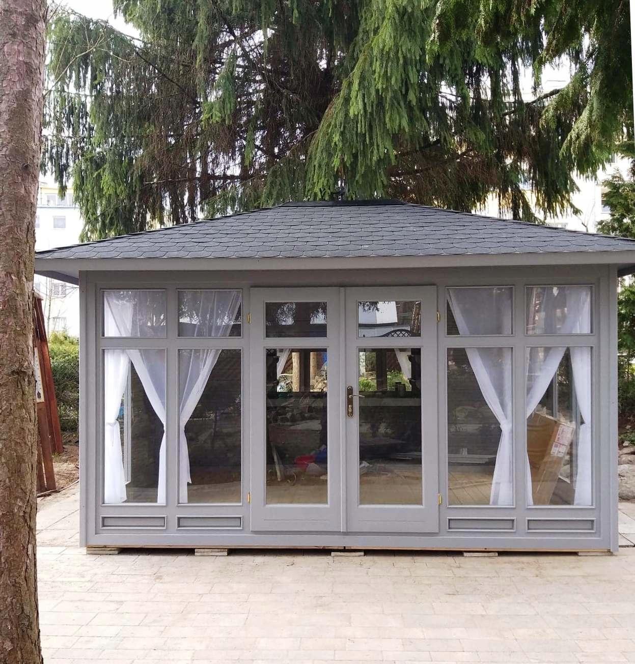 Piękny Pawilon Ogrodowy 3x4m Hit Altana Altanka