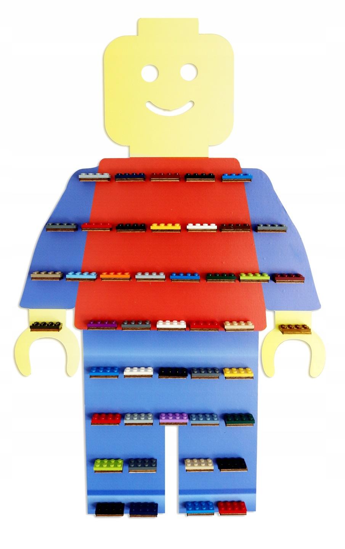 Półka Na Klocki Ludziki Lego Regał Różne Wzory