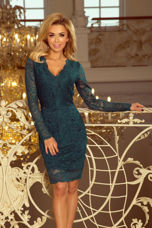 a65e7c1377 Sukienka KORONKOWA NA IMPREZĘ SYLWESTRA 170-3 XXL 7581242511 ...