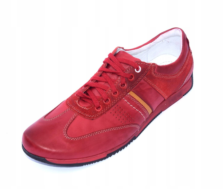 Buty sportowe adidasy polskie skórzane