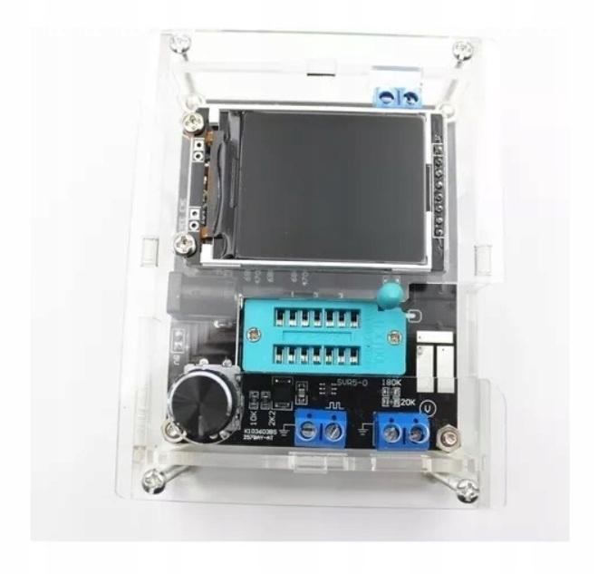 Tester Miernik Tranzystorów GM328A + Obudowa