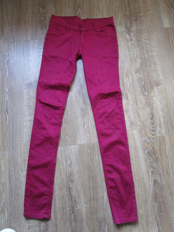 6f366d754ae6 Przedmiotem aukcji są świetne spodnie rurki elastyczne marki Logic w  kolorze ciemno malinowym