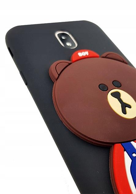 - etui case wzory Miś Misio Samsung Galaxy A7 2018 | Wyjątkowe etui na telefony - etui-gsm.pl