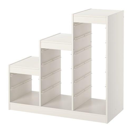 Ikea Regał Na Zabawki Trofast 99x44x94 Biały Rama