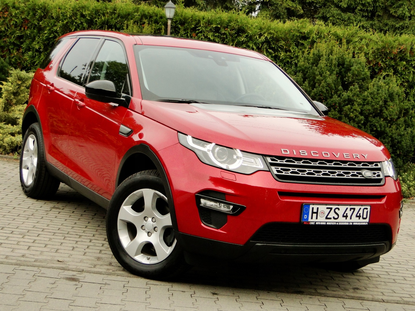 Land Rover Discovery Sport SUV 2.0 eD4 150KM 2017 Land Rover Discovery Sport 2.0