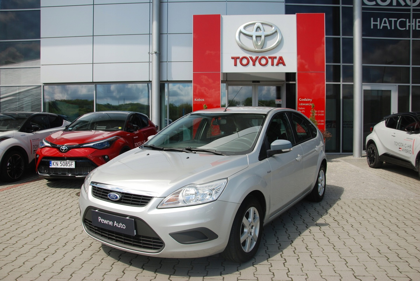 Ford Focus II Hatchback 5d 1.4 Duratec 80KM 2008 Ford Focus 1.4