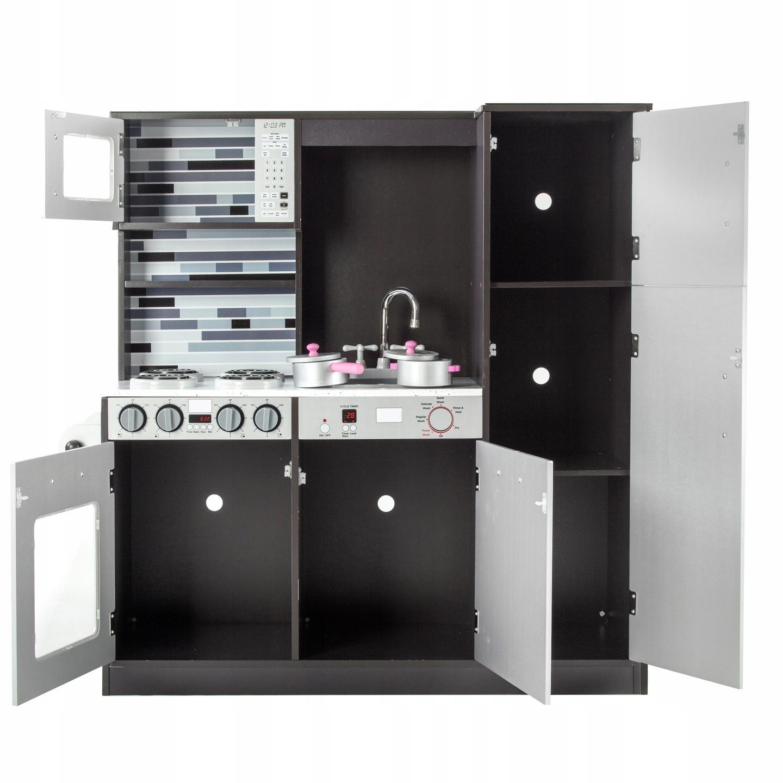 микроволновая деревянная кухня аксессуары Tobi Toys W37