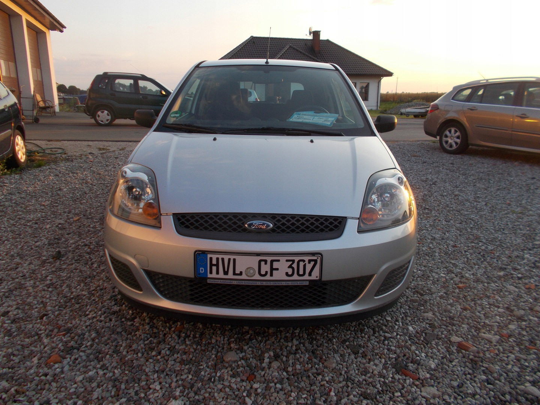 Ford Fiesta VI 2007 FORD FIESTA TYLKO 140 TYS.KM !!!