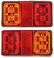Фара мост прицепа фонарь Светодиодные лампы диодов ПАРА